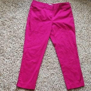 Hot Pink Ankle Pants